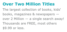 Nook has 2 million titles